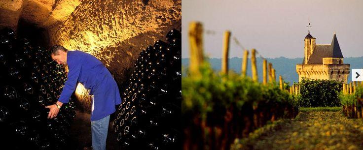 Weinbauregion Loire Bei Spaziergängen durch das Val de Loire können Sie den Charme der drittgrößten