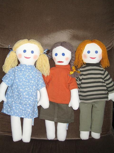 Unicef rag dolls 003 by kotkarankki, via Flickr