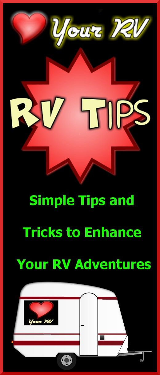 Excellent 1163 Best RV Hints Amp Tips Images On Pinterest