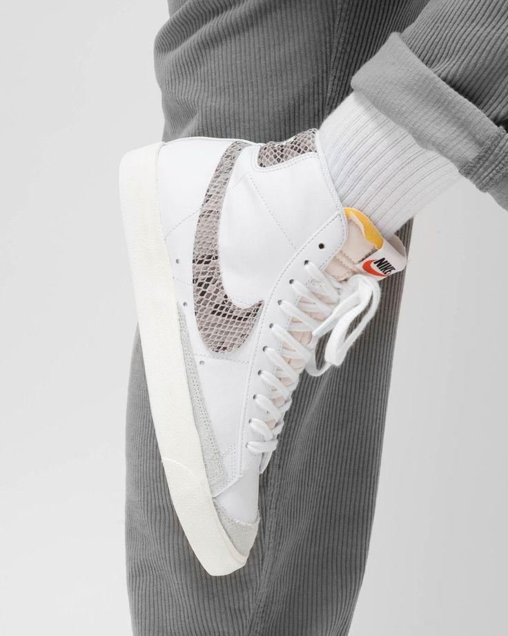 Nike Blazer Mid 77 Snakeskin White : Sale Price: $80 (Retail $100 ...