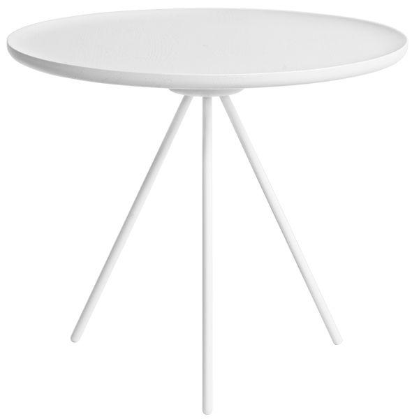 Key coffee table, white, by Hem. Design by GamFratesi.