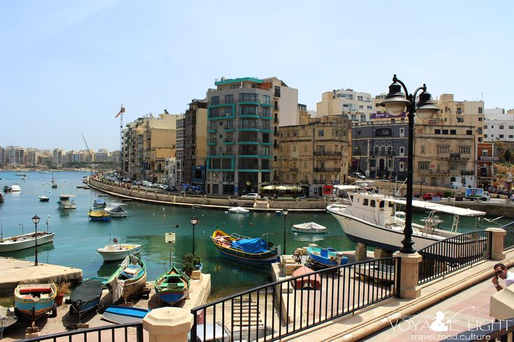 Near Spinola Bay. The walk from St. Julian's to Silema.