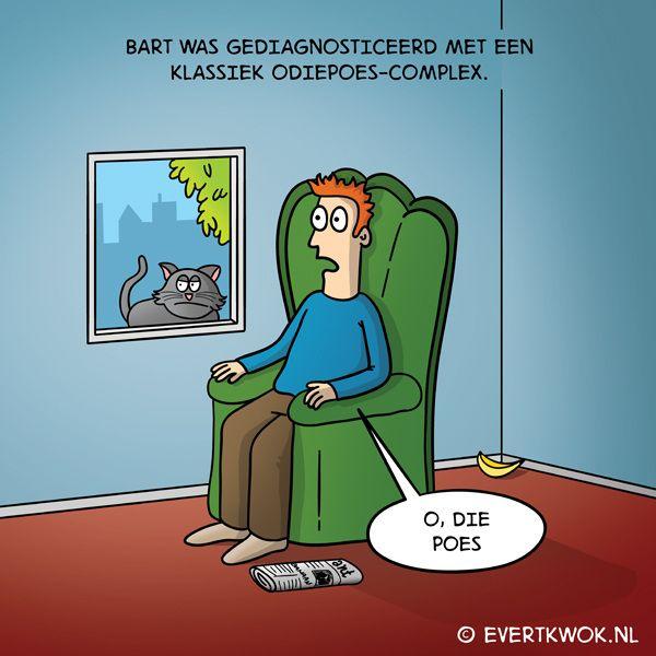 O die poes. #cartoon