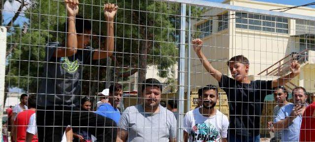 Πιερία: Χάος στην Ελλάδα με το προσφυγικό