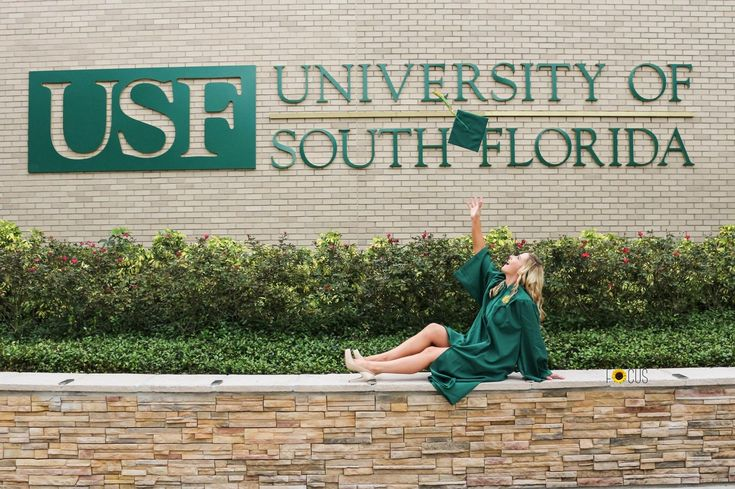 graduation photo picture idea at USF - University of South Florida