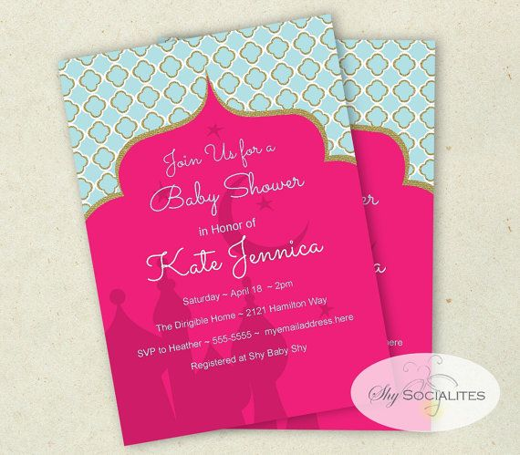 85 best Moroccan Baby Shower images – Moroccan Party Invitations
