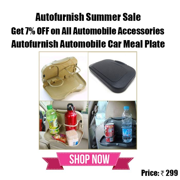 #Autofurnish Car Meal Plate Drink Cup Holder Tray Use Discount Code - AFSS7 Shop Now http://bit.ly/1ZkXam5