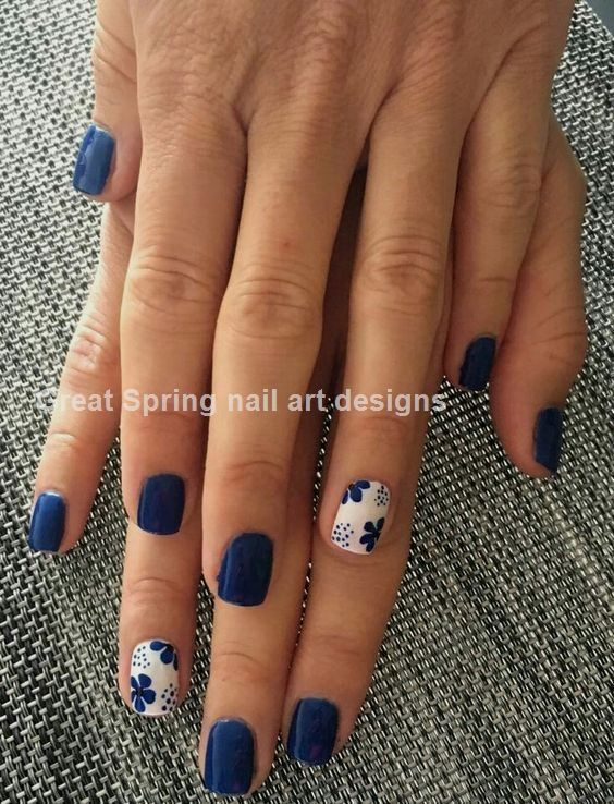 20 große Spring Nail Designs 2019 – #Designs # Big #Nail #Spring – Hair and beauty