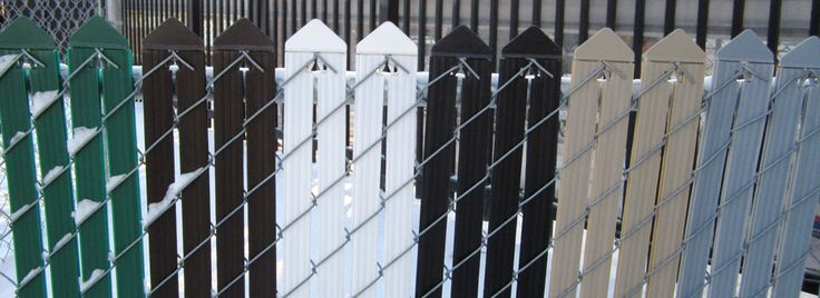 photo of Wallace Fences privacy insert colour options