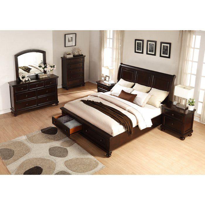 Brishland Platform 6 Piece Bedroom Set