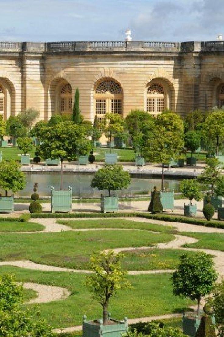 194 best versailles le parc les jardins images on pinterest versailles water fountains and - Les jardins de l orangerie ...