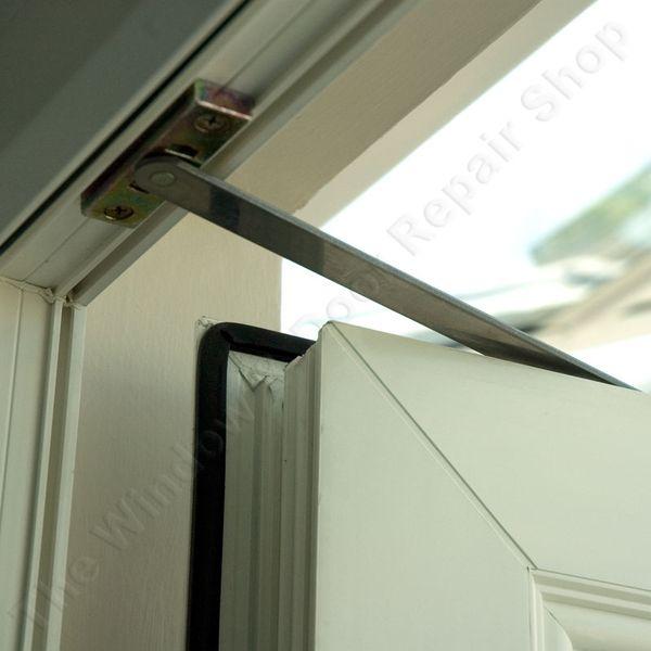 14 best bifold door window treatments images on pinterest for Door opening restrictor