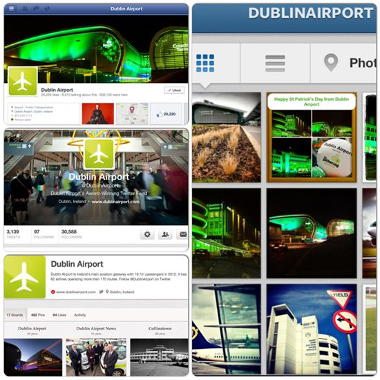 DAA wins communications award at Irish Logistics & Transport Awards for use of Social Media (Mar 2013)