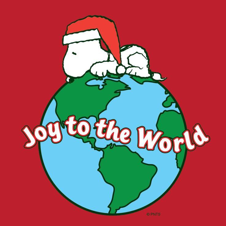 Snoopy (*^▽^*) Joy to the World