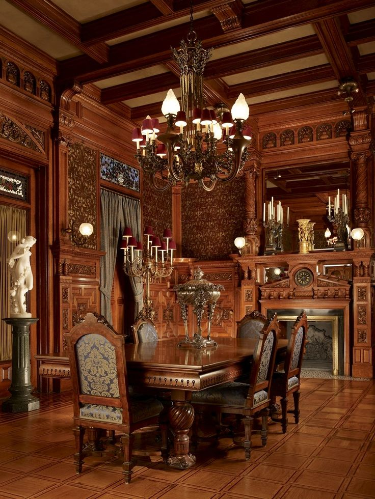 Dining Room Richard H Driehaus Museum Located In Chicago Illinois The Is Housed Within Historic Samuel M Nickerson House 1883 Residence