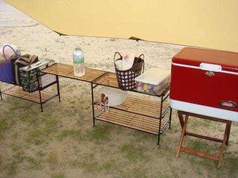 焚火タイム:我が家のキャンプ道具ちょっと紹介①