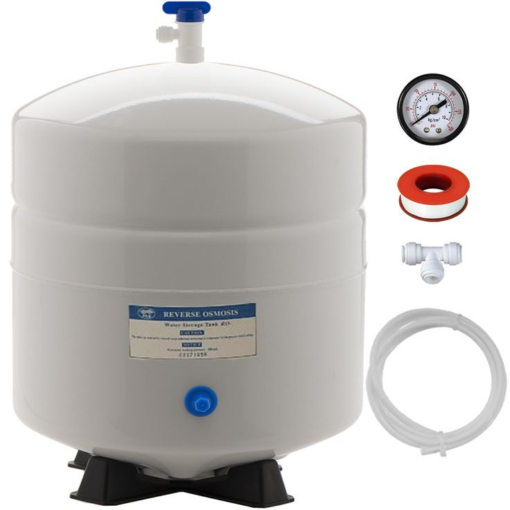 FULL SET - 6.0-Gallon Reverse Osmosis RO Water Storage Tank by PA-E