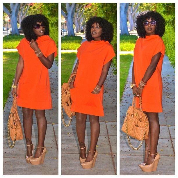 Wow!!: Nude Shoes, Colors Combos, Mod Style, Orange Dresses, Today Posts, Feelings Stylepantri, Style Pantries, Breath Fashionista, Stylepantri Swoon