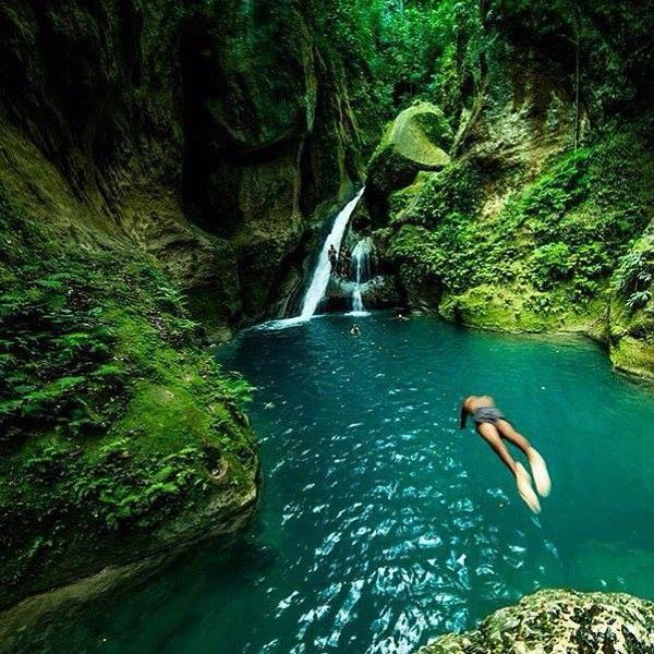 Discover Haiti's wonderful gems, come see for yourself. Bassin Bleu, #Haiti #Tourism Source: Haiti Tourism