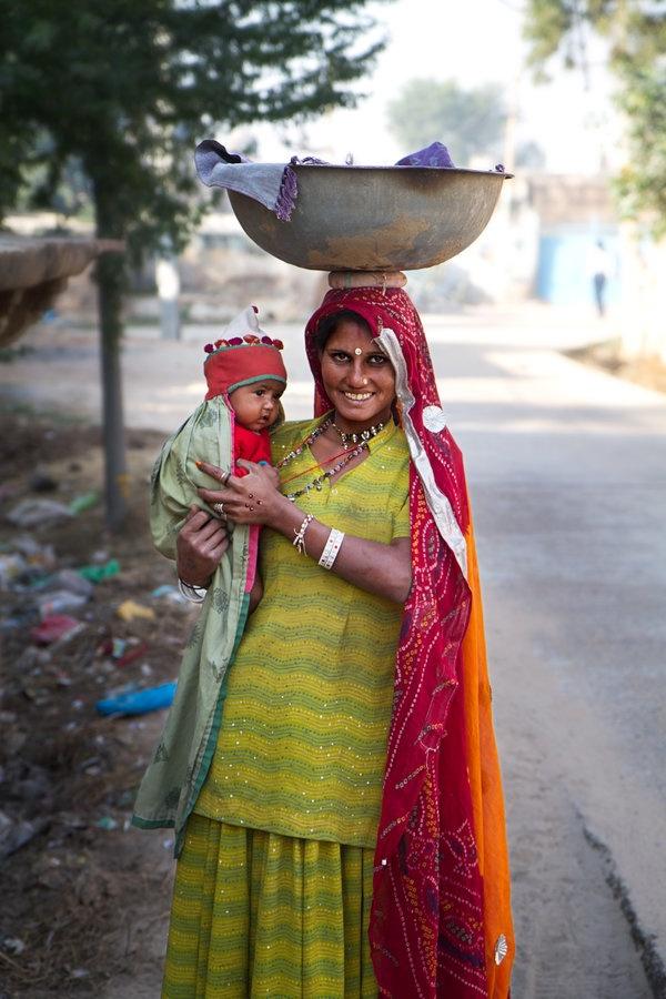 Have baby will travel. Mandawa portrait by ~mrnonol on deviantART
