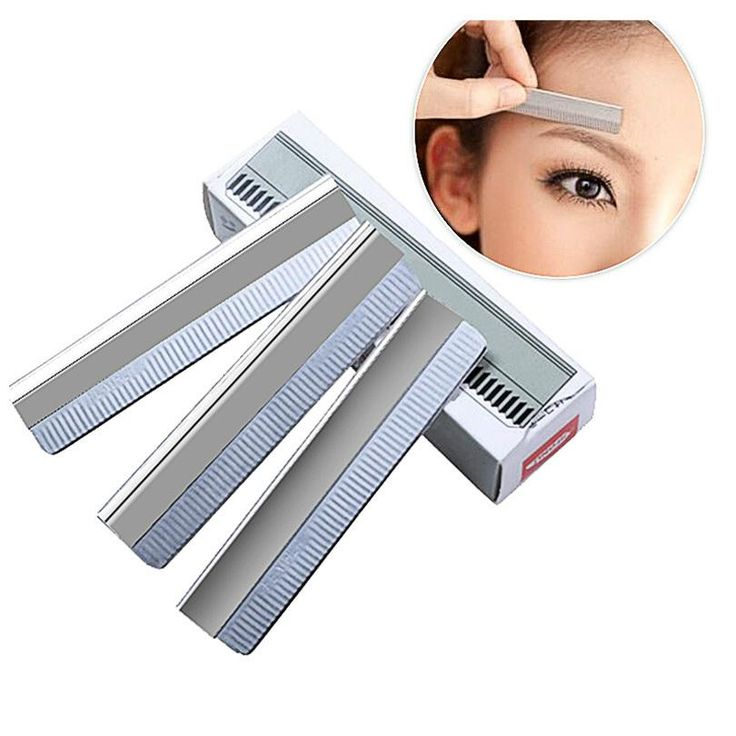 [Visit to Buy] 10Pcs/set Eyebrow Razor Trimmer Face Hair Remover Womens Bikini Shaver Shaper Trimmer Eye Brow Shaving Trimmers Make Up Tools #Advertisement