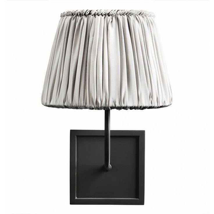 Plisse Silk Shade Wall Light at Idyll Home