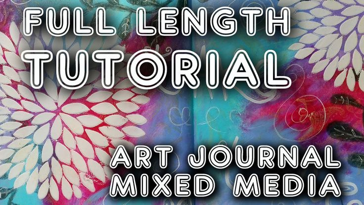 Studio Time 6 - ''Take Your Time'' - full length mixed media tutorial
