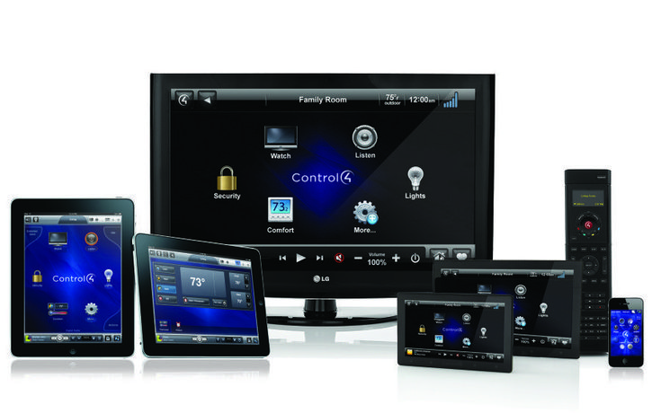 control 4 whole home automation