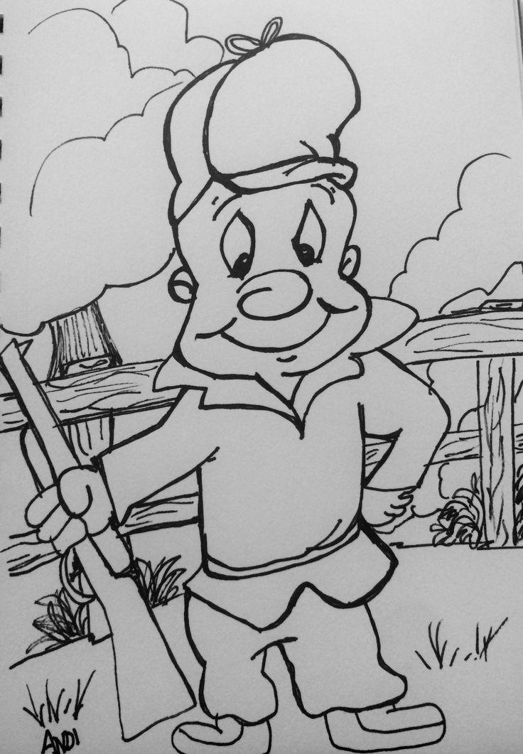 Elmer Fudd Inktober Day2