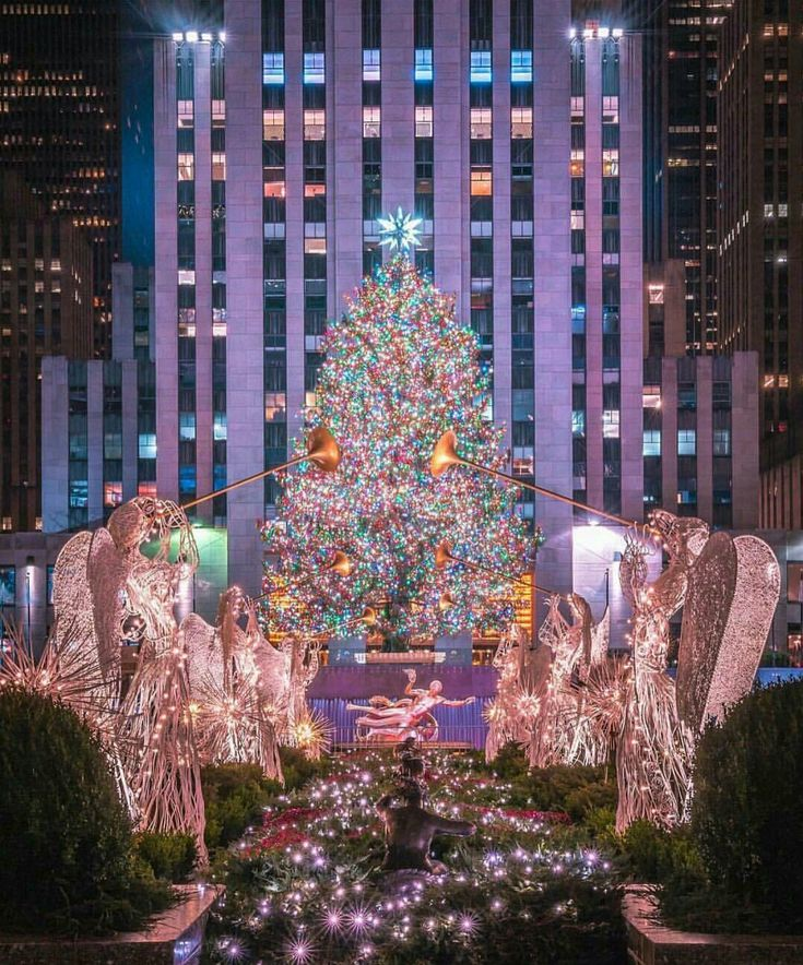 Wallpaper Rockefeller Center Christmas Tree http