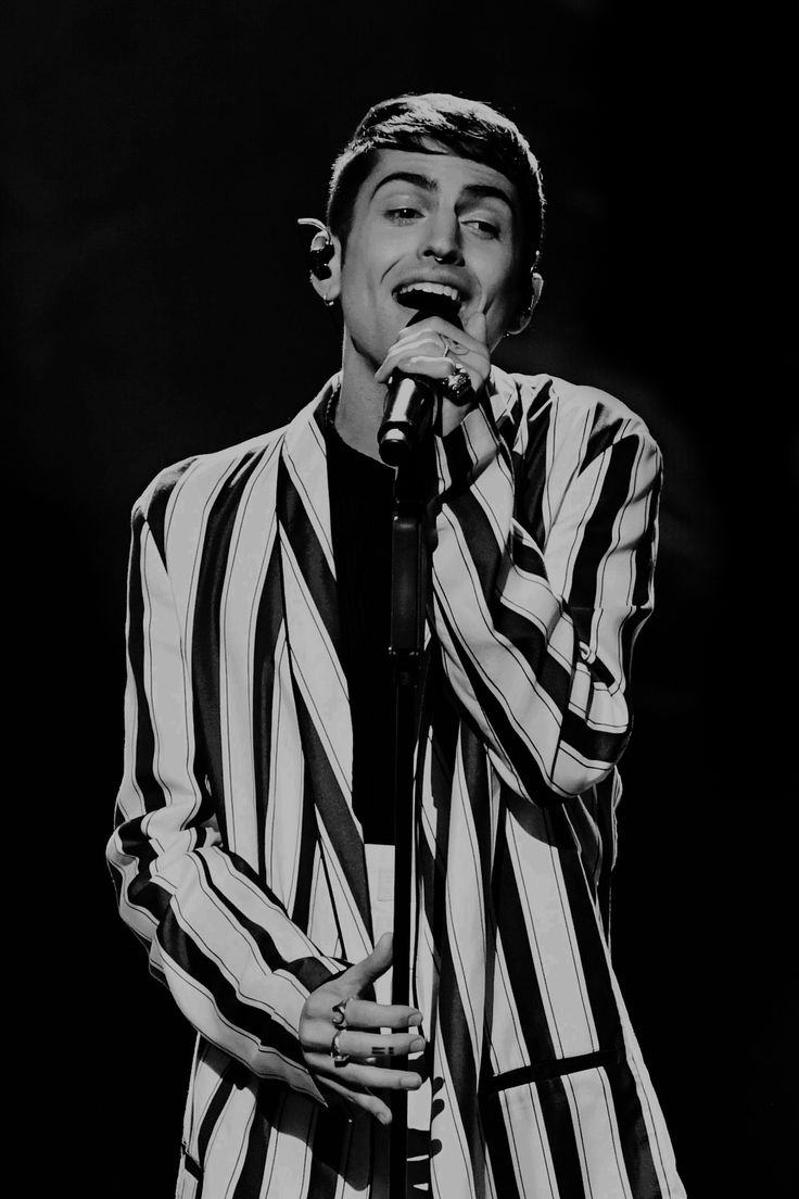 Mitch Grassi performs at the 2017 Grammy Awards