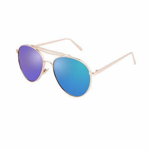 Get the perfect beachy look with these cool sunnies!  Full protection against ultraviolet light. Lenses block 99% or 100% of UVB and UVA rays. Lenses meet ANSI  blocking requirements.  UV 400 protection. (These block light rays with wavelengths up to 400 nanometers, which means that your eyes are shielded from even the tiniest UV rays) Right Hue for correct color perception.