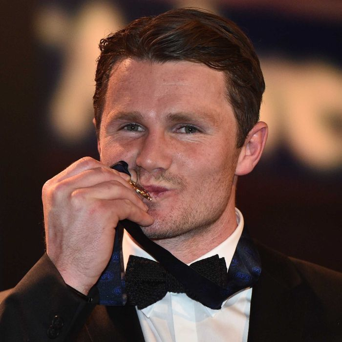Patrick Dangerfield wins his first ever Brownlow Medal, capping off a superb first AFL season with Geelong in 2016.
