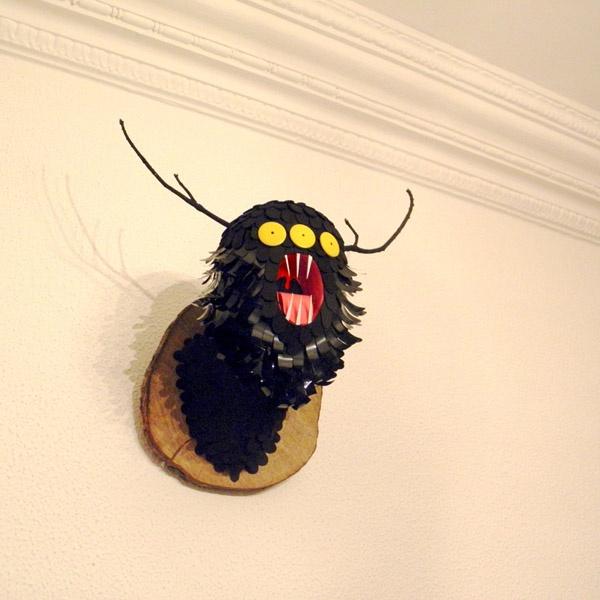 Freaky Friendly Monsters in a Retro WorldCarlo Paz, Illustration, Graphics Design, Aka Bakea, Head Hunting, Behance Nets Bakea Art, Diy Monsters, Juan Carlo, Friends Monsters