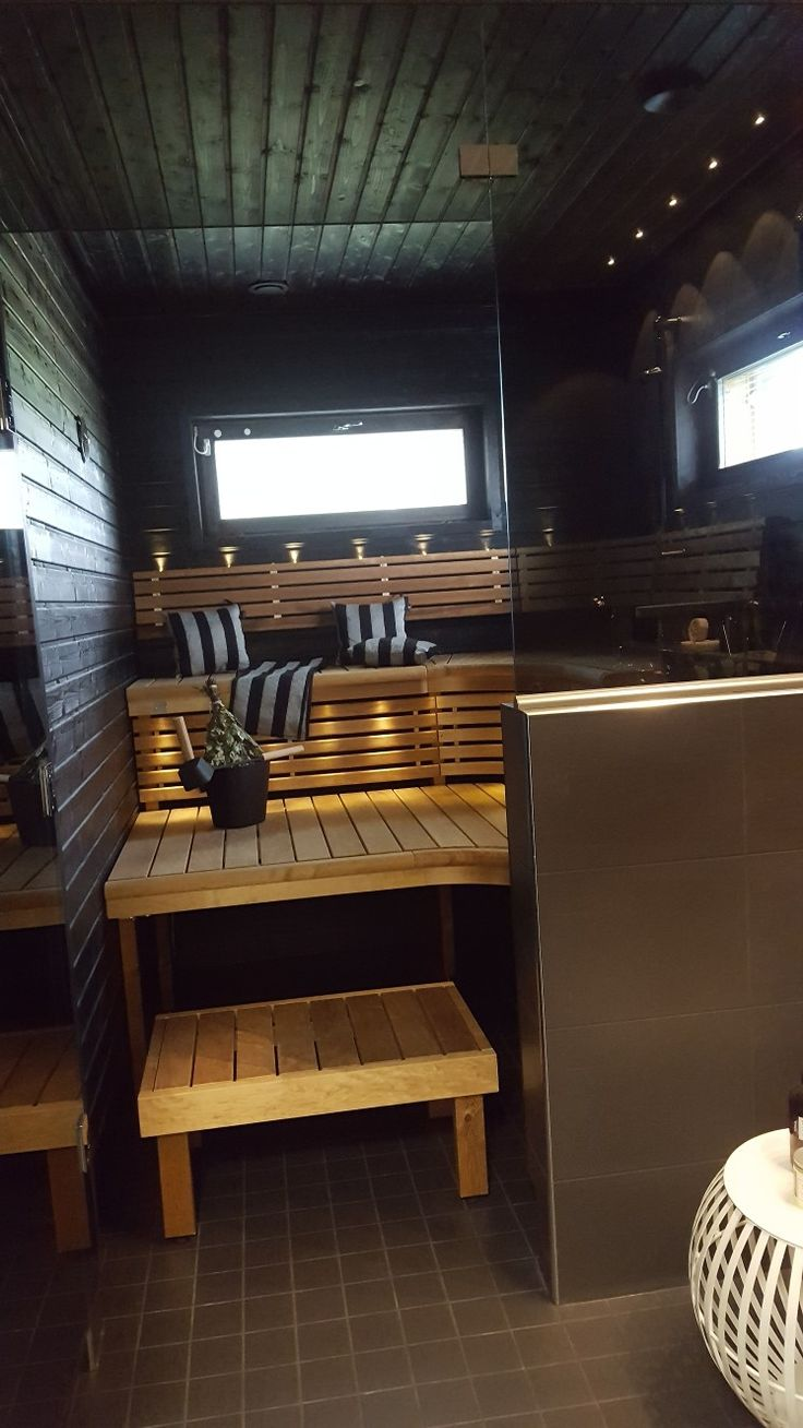 Tumma sauna. Asuntomessut 2017 Mikkelissä