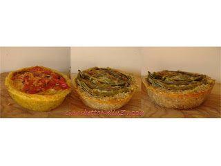 Gambetto nella Zuppa: Crostata di noci genovese e di mais con peperoni e cipolla di Tropea