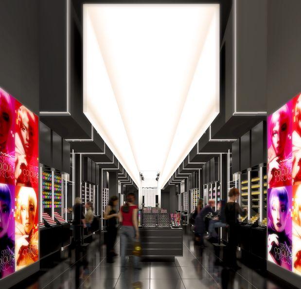 interesting ceiling lighting concept