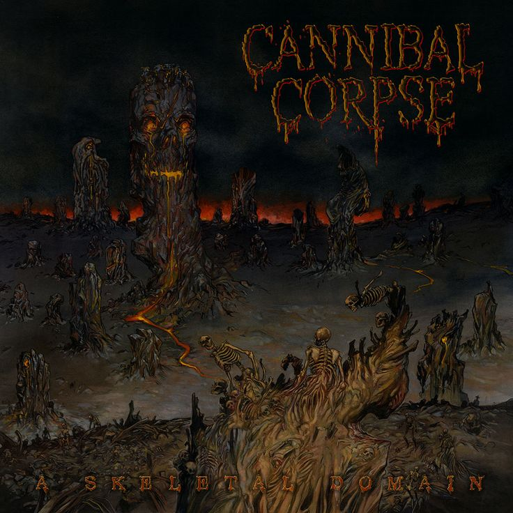 Cannibal Corpse - A Skeletal Domain [1000x1000]