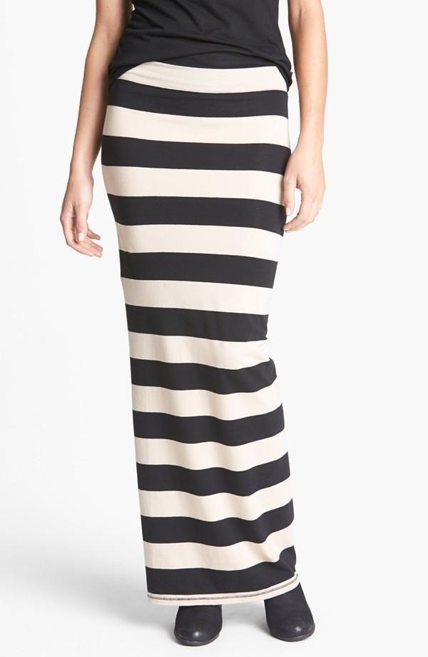 Maxi skirt stripes..