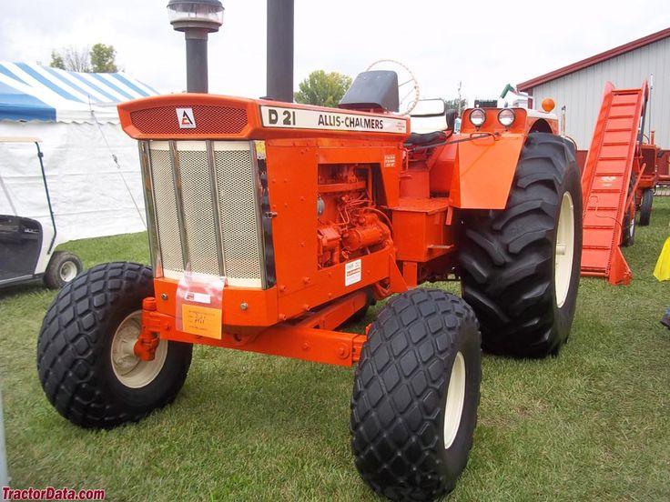 TractorData.com Allis Chalmers D21 tractor photos information  1964