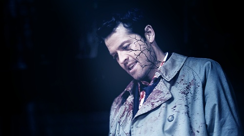 Castiel possessed by Leviathan
