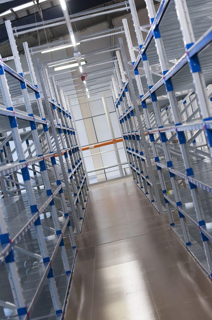 #Warehouse shelving storage system