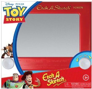 Toy Story Classic Etch A Sketch by Ohio Art. $11.88. Recommended Age Range 3 and Up. Always portable, the 7 1/2 inch screen is perfect for home or on the go. No batteries, No problem. The classic Etch a Sketch is powered by skill and imagination. Every child deserves an Etch a Sketch. The classically simple Etch-a-Sketch is one of the best-known toys of a generation and remains popular today. From the Manufacturer                Remember your Etch a Sketch? This classic toy was ...