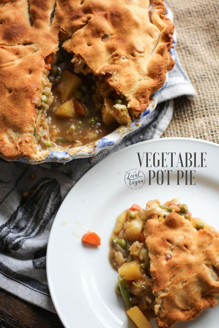 Vegetable Pot Pie - Healthy #Vegan Dinner Recipes - #plantbased #cleaneating