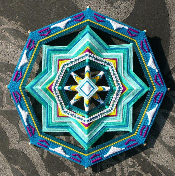 Ojos De Dios Mandala art