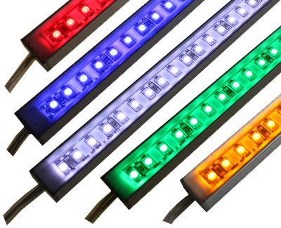 Brilliant 12 Volt Rigid LED Light Bar - SMD-3528