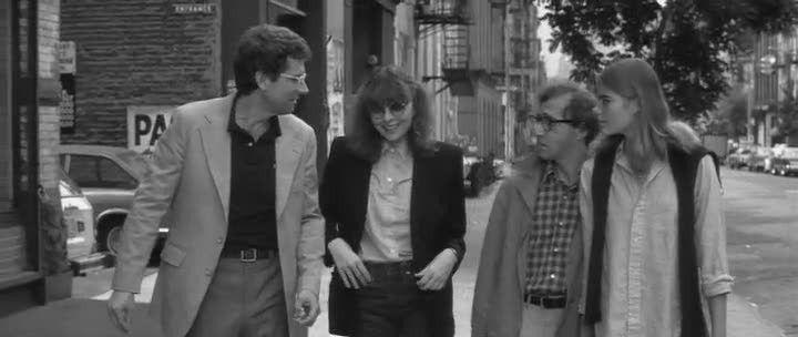 Woody Allen, Diane Keaton, Michael Murphy, Mariel Hemingway in Manhattan  @annalisacolonna
