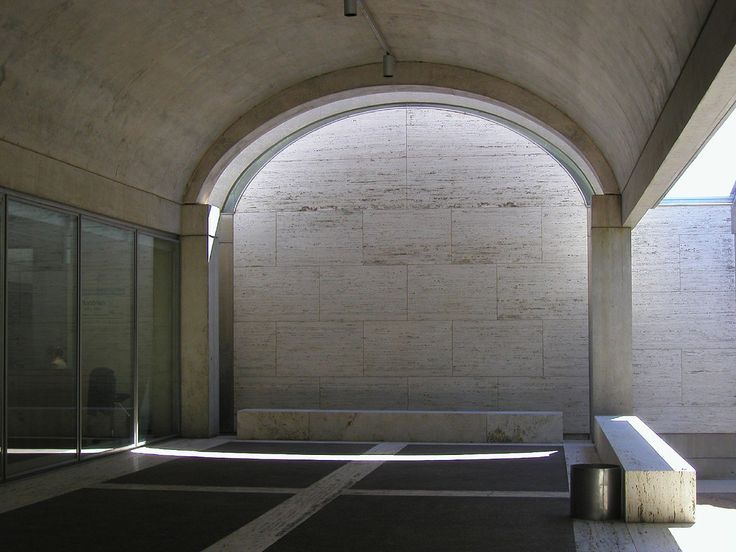the kimbell art museum in fort worth, texas | Fort Worth, Kimbell Art Museum (Louis Kahn 1972) 05 - a photo on ...