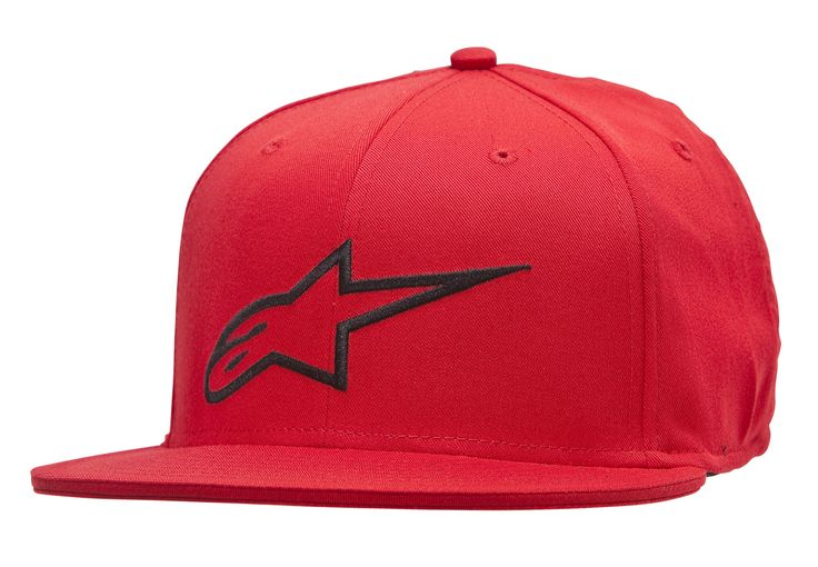 #Alpinestars Ageless Flat Flexfit Cap - Red #New to Skate Hut is Alpinestars; a 50 year old icon in motorsports and actionsports, and the leader in technology, safety, performance and style. If looking cool is your thing, then youve come to the right place.FLAT BILL SHAPEFRONT FLAT EMBROIDERED LOGO97% POLYESTER/3%SPANDEXCONTRAST SANDWICH AND UNDERBILLFLEXFIT (Barcode EAN=8051194722621)