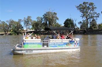 river cruising - BIG4 Deniliquin caravan and cabin accommodation park family activities